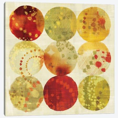 Rain Dots Canvas Print #WAC1937} by Wild Apple Portfolio Canvas Wall Art