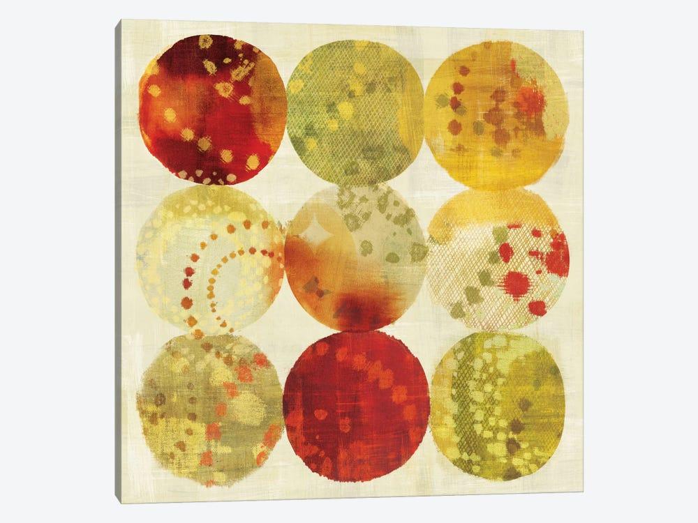 Rain Dots by Wild Apple Portfolio 1-piece Canvas Artwork