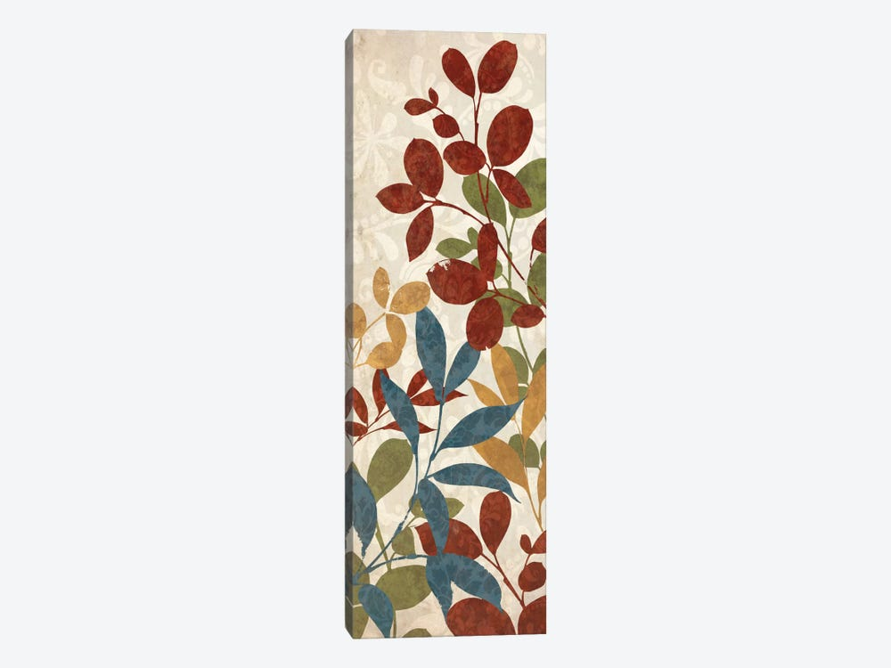 Leaves of Color I by Wild Apple Portfolio 1-piece Canvas Art Print