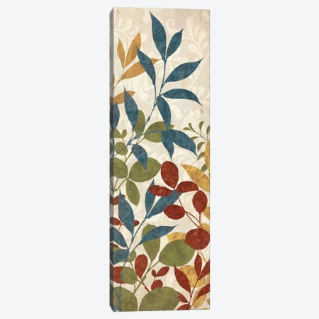 Leaves of Color II Canvas Print #WAC1939} by Wild Apple Portfolio Canvas Print