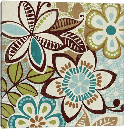 Free Wheelin Green I Canvas Print #WAC1940
