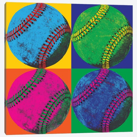 Ball Four-Baseball Canvas Print #WAC1946} by Wild Apple Portfolio Canvas Print
