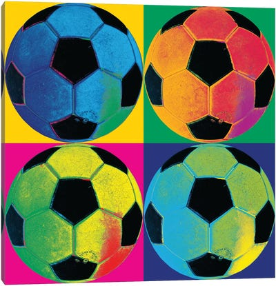 Ball Four-Soccer Canvas Art Print