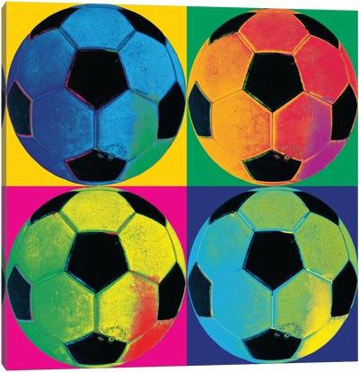 Ball Four-Soccer Canvas Art Print