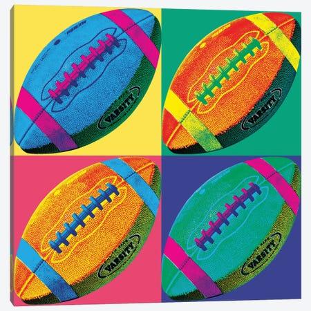 Ball Four-Football Canvas Print #WAC1948} by Wild Apple Portfolio Canvas Wall Art
