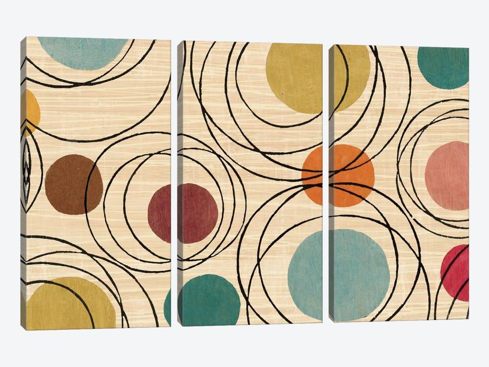 In the Round by Wild Apple Portfolio 3-piece Canvas Artwork