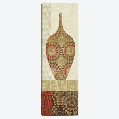 Spice Stripe Vessels Panel III Canvas Print #WAC1953} by Wild Apple Portfolio Canvas Print