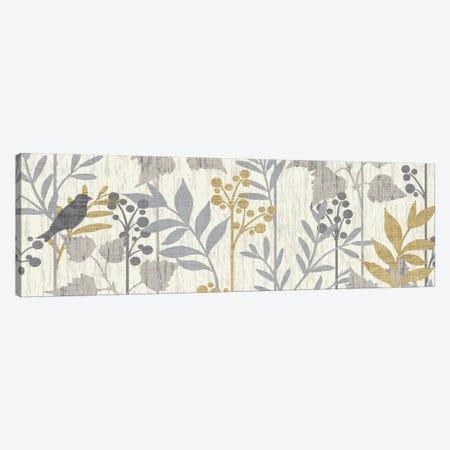 Garden Leaves Panel I Canvas Print #WAC1958} by Wild Apple Portfolio Canvas Print