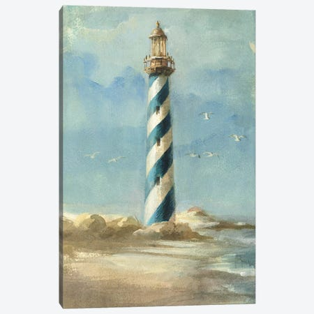 Lighthouse I Canvas Print #WAC195} by Danhui Nai Canvas Art Print