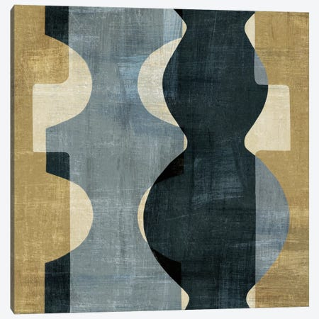 Geometric Deco II Canvas Print #WAC1966} by Wild Apple Portfolio Art Print