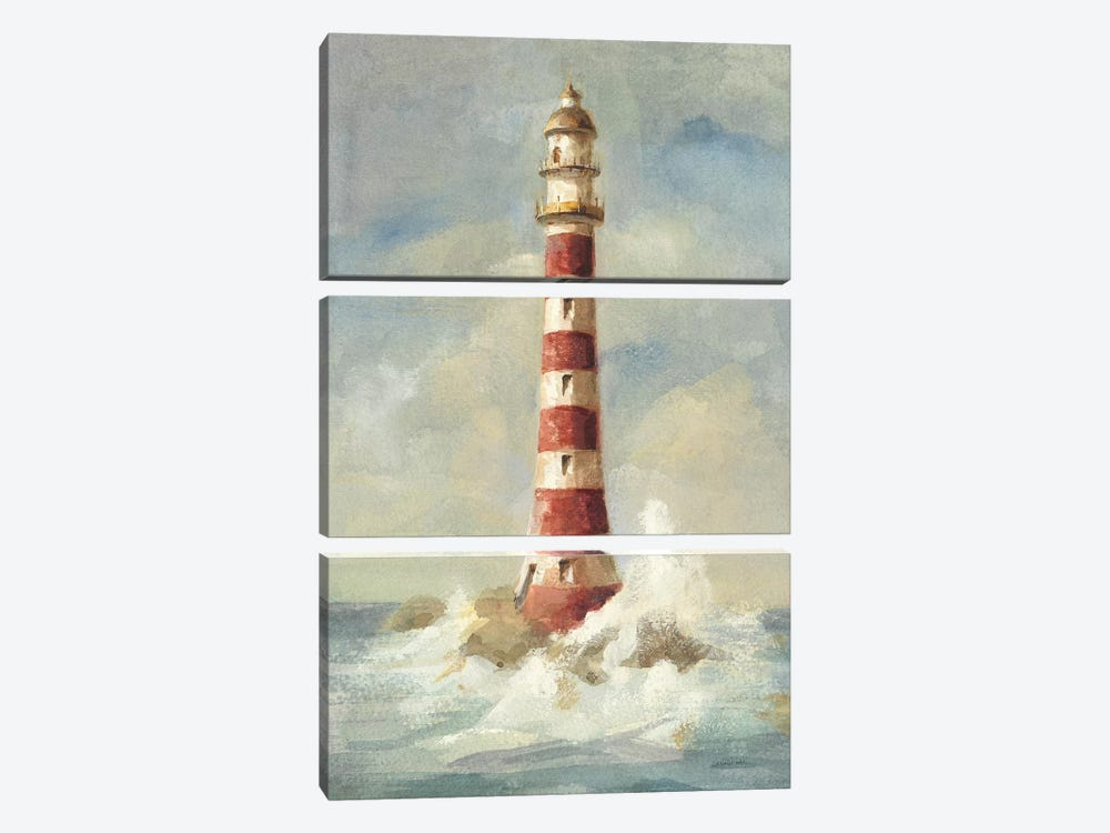 Lighthouse II by Danhui Nai 3-piece Canvas Wall Art