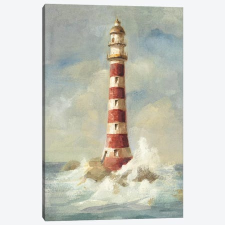 Lighthouse II 3-Piece Canvas #WAC196} by Danhui Nai Canvas Print