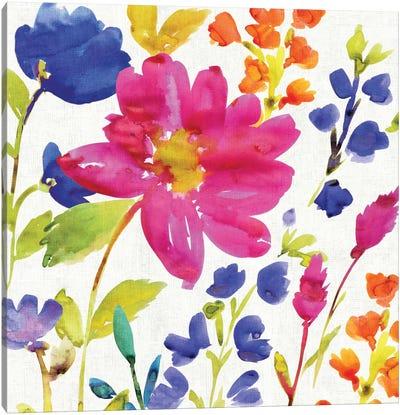 Floral Medley I Canvas Print #WAC1975
