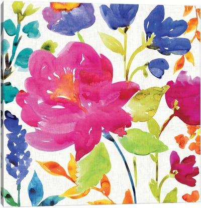 Floral Medley II Canvas Print #WAC1976