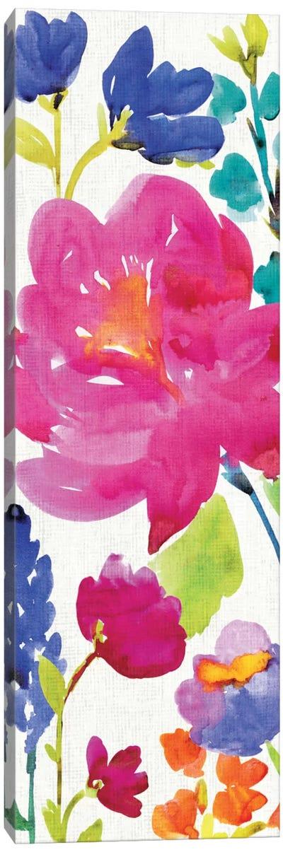 Floral Medley Panel II Canvas Print #WAC1978