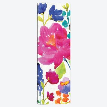 Floral Medley Panel II Canvas Print #WAC1978} by Wild Apple Portfolio Canvas Print
