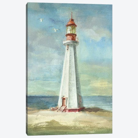 Lighthouse III Canvas Print #WAC197} by Danhui Nai Canvas Art Print