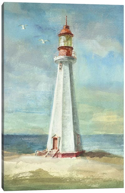 Lighthouse III Canvas Art Print
