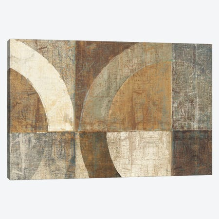 Circular Sculpture Canvas Print #WAC1981} by Wild Apple Portfolio Canvas Art