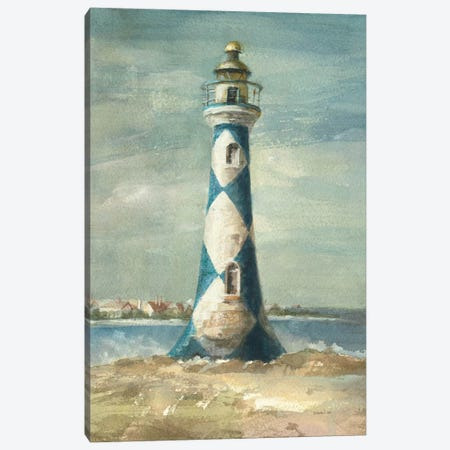 Lighthouse IV Canvas Print #WAC198} by Danhui Nai Canvas Artwork