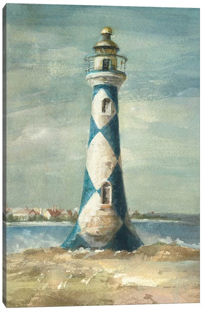 Lighthouse IV Canvas Art Print