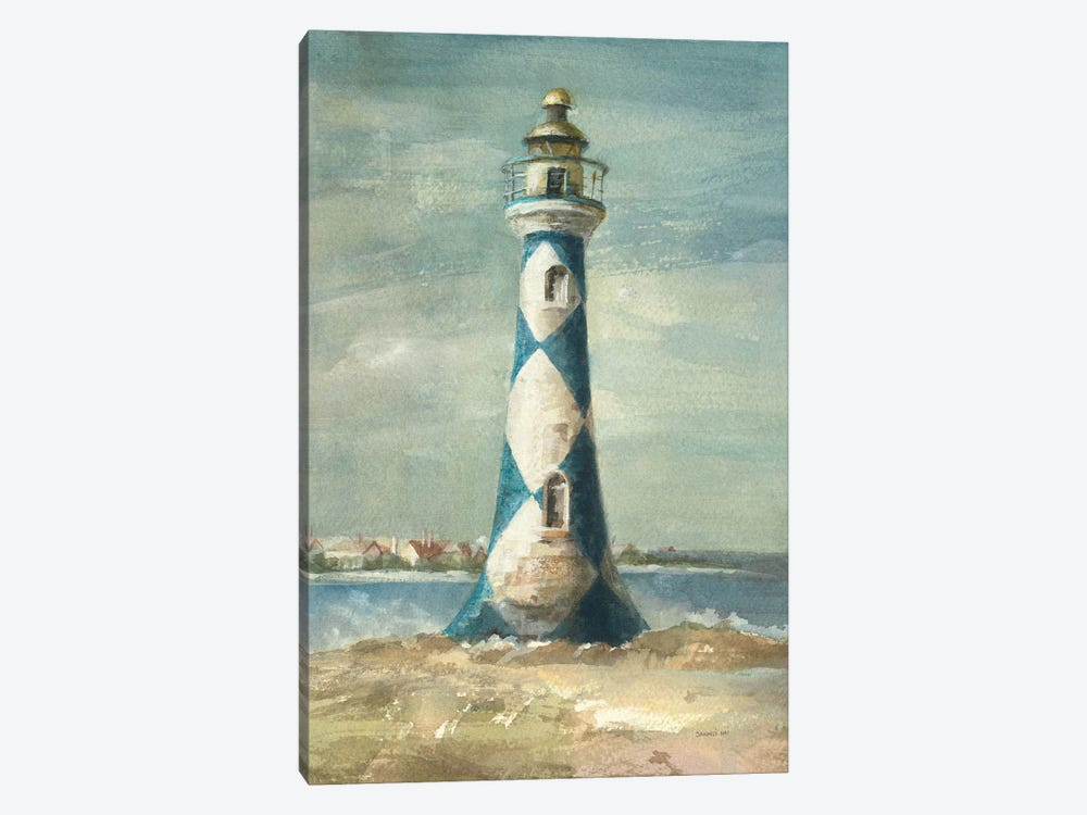 Lighthouse IV by Danhui Nai 1-piece Canvas Art