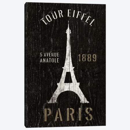 Refurbished Eiffel Tower Canvas Print #WAC1991} by Wild Apple Portfolio Canvas Print