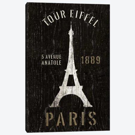 Refurbished Eiffel Tower Canvas Print #WAC1991} by Wild Apple Portfolio Canvas Print