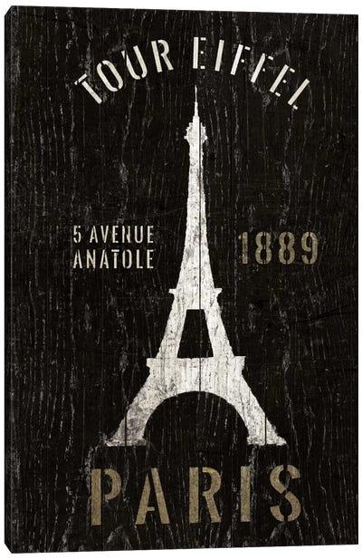 Refurbished Eiffel Tower Canvas Art Print