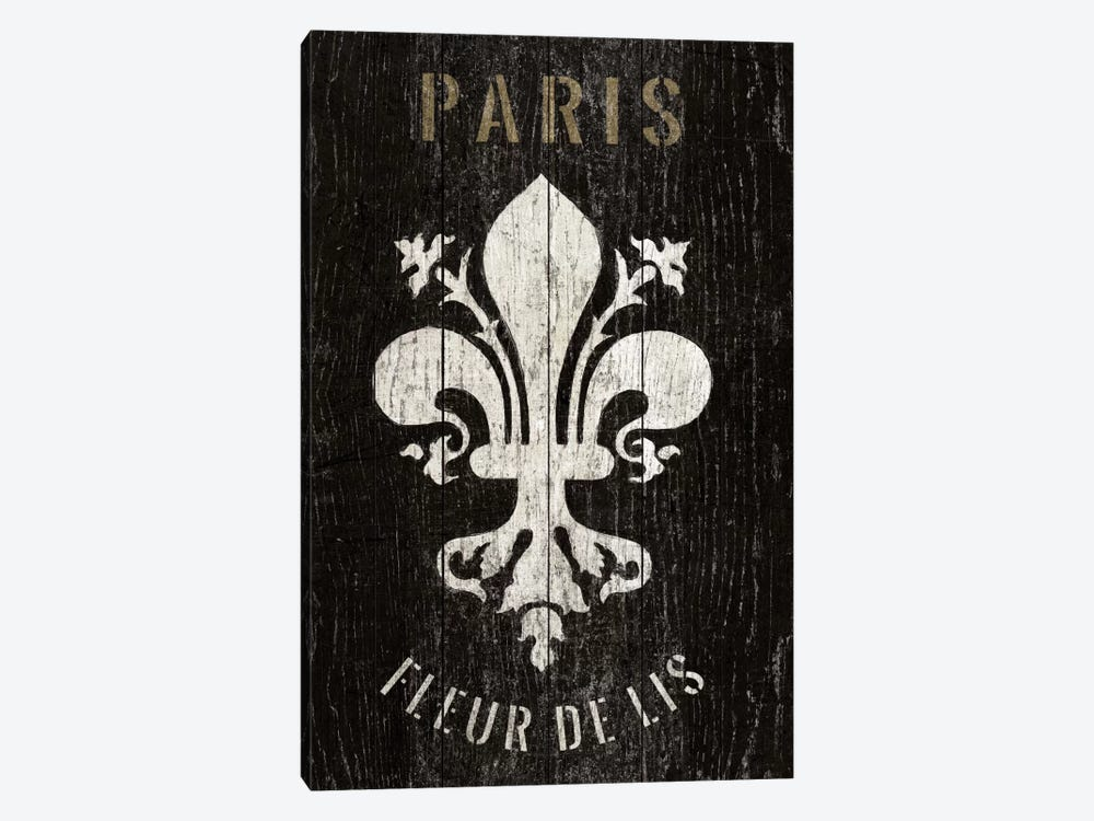 Refurbished Fleur de Lis by Wild Apple Portfolio 1-piece Canvas Art Print