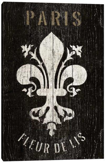 Refurbished Fleur de Lis Canvas Art Print