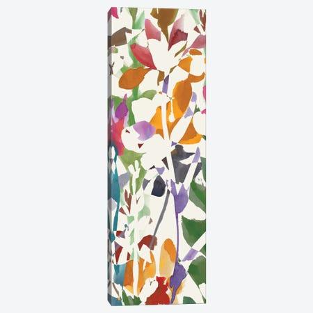 Pink Garden Panel II Canvas Print #WAC1999} by Wild Apple Portfolio Canvas Print