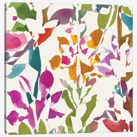 Pink Garden III Canvas Print #WAC2001} by Wild Apple Portfolio Canvas Print