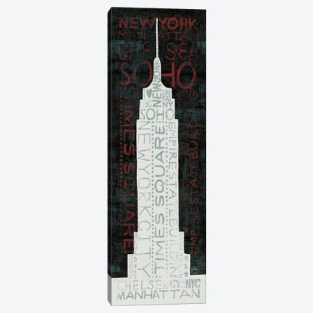 Empire State Building Canvas Print #WAC2002} by Michael Mullan Canvas Print