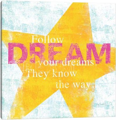 Letterpress Dream Canvas Print #WAC2004