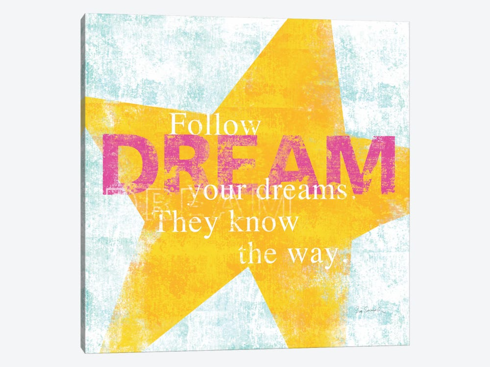 Letterpress Dream by Sue Schlabach 1-piece Canvas Wall Art