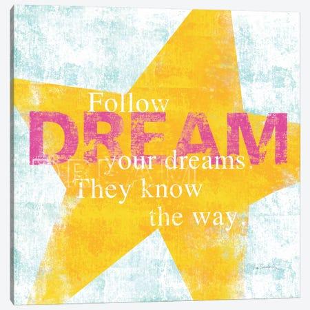 Letterpress Dream Canvas Print #WAC2004} by Sue Schlabach Canvas Art