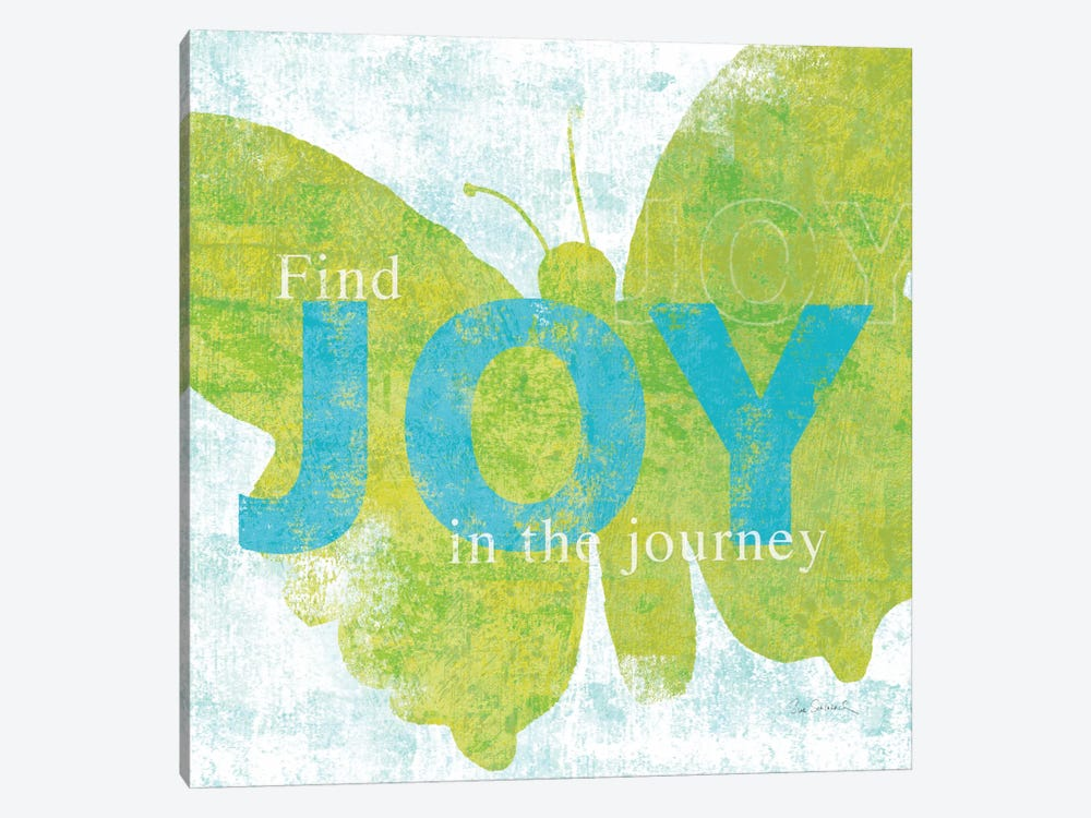 Letterpress Joy 1-piece Canvas Artwork