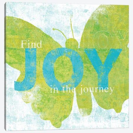 Letterpress Joy Canvas Print #WAC2006} by Sue Schlabach Canvas Artwork