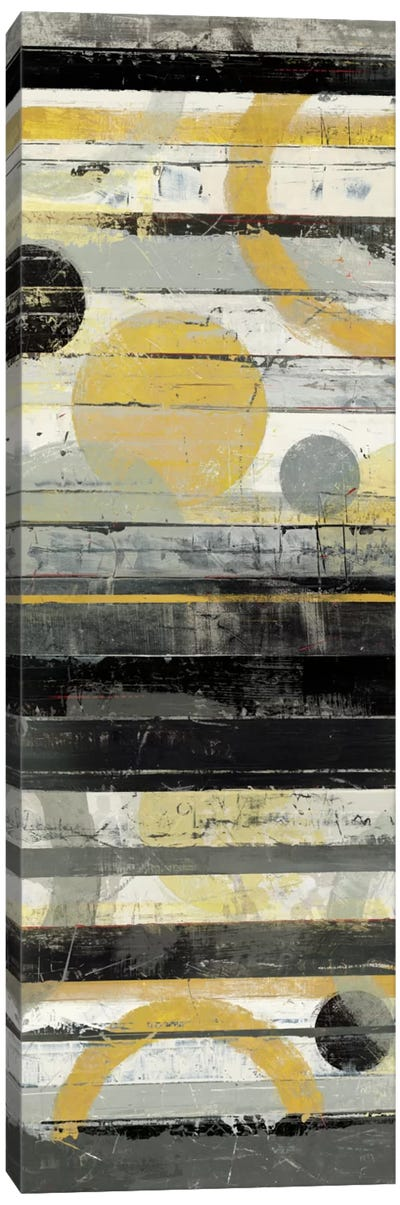 Yellow Zephyr Panel Canvas Art Print