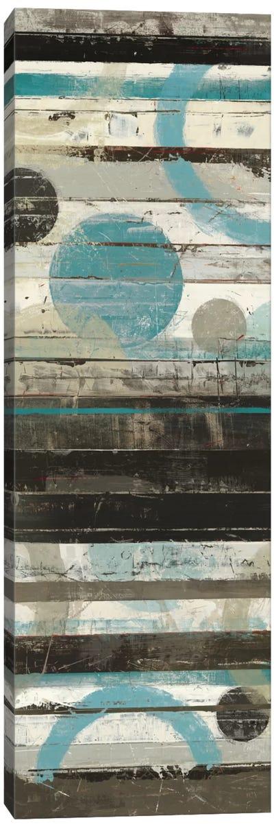 Blue Zephyr Panel Canvas Art Print