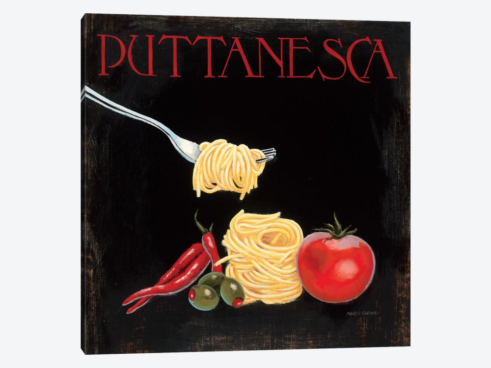 Italian Cuisine I 1-piece Canvas Art