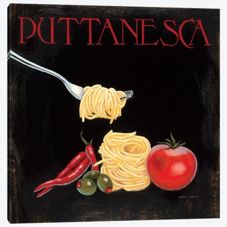 Italian Cuisine I Canvas Print #WAC2020} by Marco Fabiano Canvas Art Print