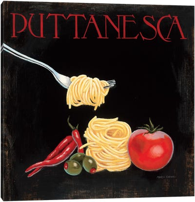 Italian Cuisine I Canvas Art Print