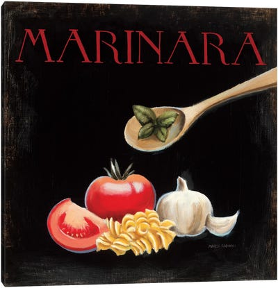 Italian Cuisine IV Canvas Art Print