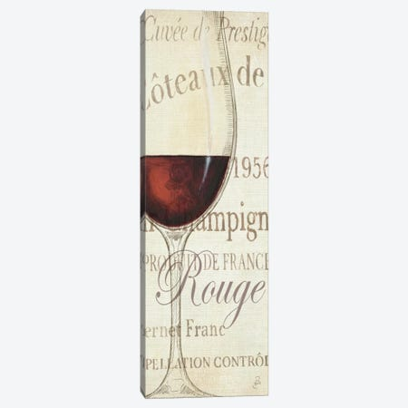 Les Rouge Canvas Print #WAC2029} by Daphne Brissonnet Canvas Print