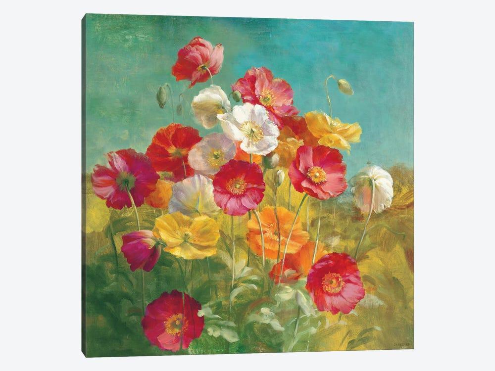 Poppies in the Field by Danhui Nai 1-piece Art Print