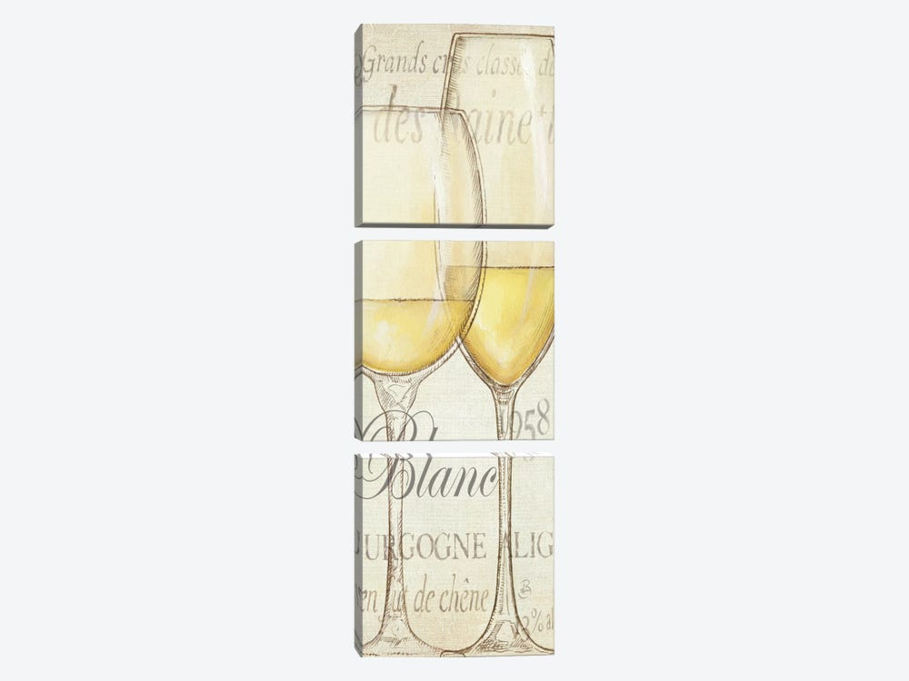 Les Blancs by Daphne Brissonnet 3-piece Canvas Print