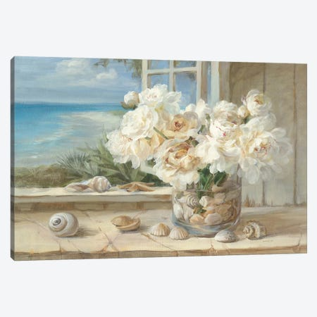 By the Sea Canvas Print #WAC203} by Danhui Nai Canvas Artwork