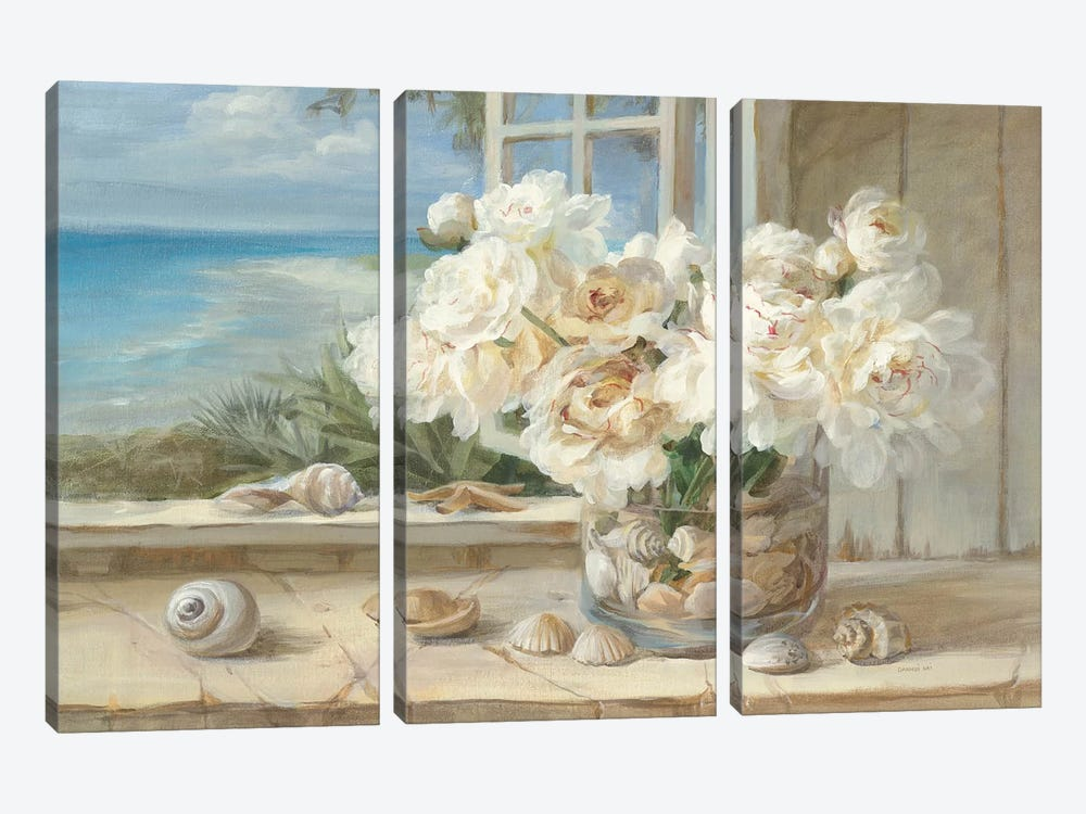 By the Sea by Danhui Nai 3-piece Canvas Art